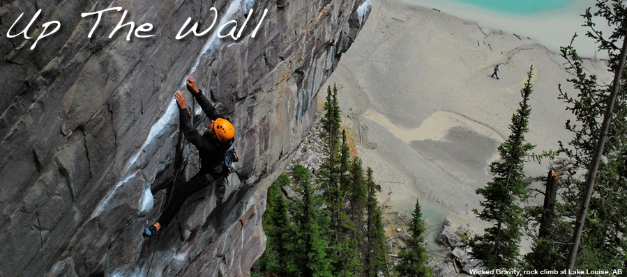 Rock climbing instruction, courses, guided multipitch rock climbs near Canmore, Banff and Lake Louise, the Canadian Rockies