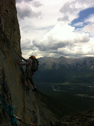 Guiding Reprobate, Mt Rundle